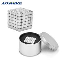 216pcs Pack 5 5 5mm Square Neodymium Magnetic Strong NdFeB Imanes DIY Buck Neo Cubes Puzzle