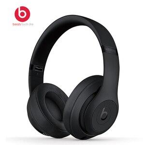 Image 1 - Beats studio3 fone de ouvido sem fio fone de ouvido bluetooth música fones de ouvido puro anc redução de ruído fones de ouvido com microfone fone batidas por dre