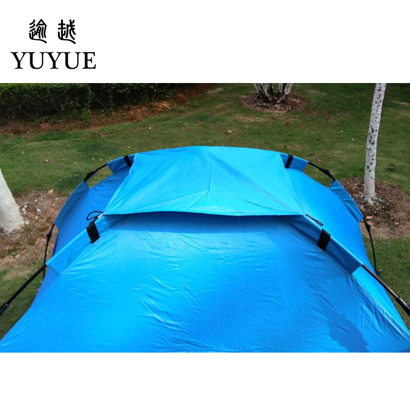 3-4 person cheap tent camping for cleary day hiking outdoor camping tente camping randonnee automatic tent  for family outings 3