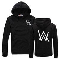 Alan Walker Sweatshirt Men Hip Hop Faded Black Hooded Tracksuit Fashion Printed Hoodie Casual Male Brand