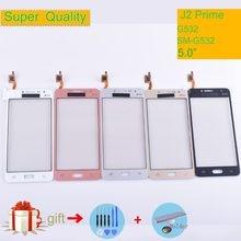 G532 ekran dotykowy do Samsung Galaxy J2 Prime G532 SM-G532 ekran dotykowy digitizer panel dotykowy szklany obiektyw zewnętrzny bez LCD