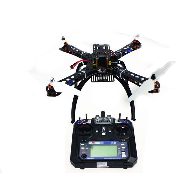 Assembled RC Helicopter with APM2.8 Flight Control + FS-i6 6CH Transmitter + 6M GPS with Compass цена