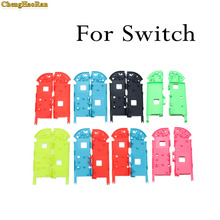 ChengHaoRan 1pcs 9 color available High quality Replacement Right Left Middle Frame for Switch Joy-Con Controller Battery Holder