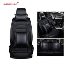Kalaisike кожа универсальное автокресло крышка для Mazda Все модели CX-3 CX-5 CX-7 mazda 6 3 626 323 M2 Тюнинг автомобилей авто аксессуары