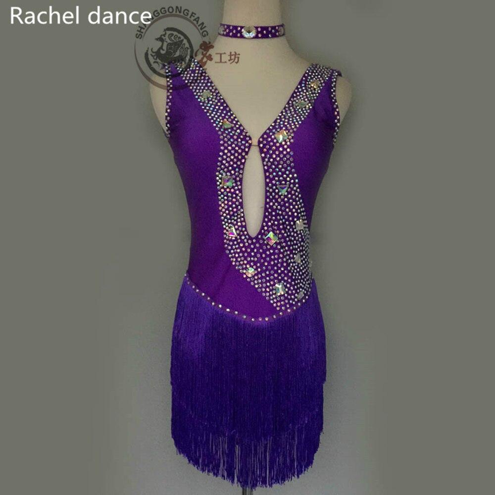 2017 Novi prihod Ženske Latinsko plesno obleko Latinski plesni - Odrska in plesna oblačila