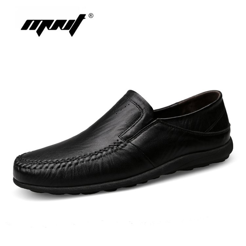 Fashion Natural Leather Men Casual Shoes Light Breathable Flats Shoes Slip-On Walking Driving Loafers Zapatos Hombre new fashion men luxury brand casual shoes men non slip breathable genuine leather casual shoes ankle boots zapatos hombre 3s88