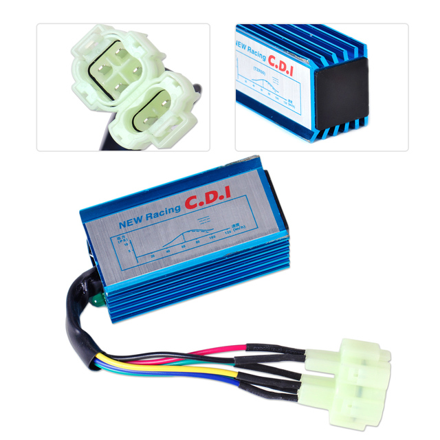 US $8 57 22% OFF|beler Performance Racing CDI Box Unit 6 Pin for GY6 50cc  70cc 90cc 125cc 150cc Scooter ATV Moped Go Kart Motor Bike for TaoTao-in