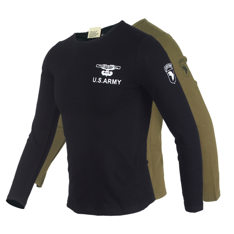 Sports T-Shirt Men Outdoor Tshirt 2016 Brand Slim Fit Long Sleeve Tactical Tshirts Military Training Sports U.S. NAVY Tee Shirt