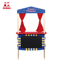 2018 PHOOHI Children Play Fruit Display Shop Pretend Play Toys Wooden Kids Puppet Theatre Toy For 3+ Years SAWT608 1