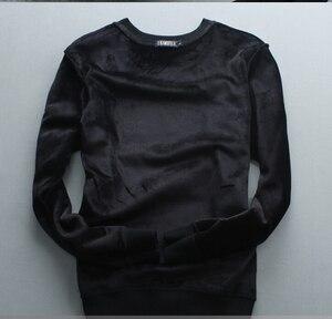 Image 4 - גברים היפ הופ חולצות סוודרים נים יהלומי עיצוב 2019 חורף מזדמן רגיל כותנה עבה סווטשירט