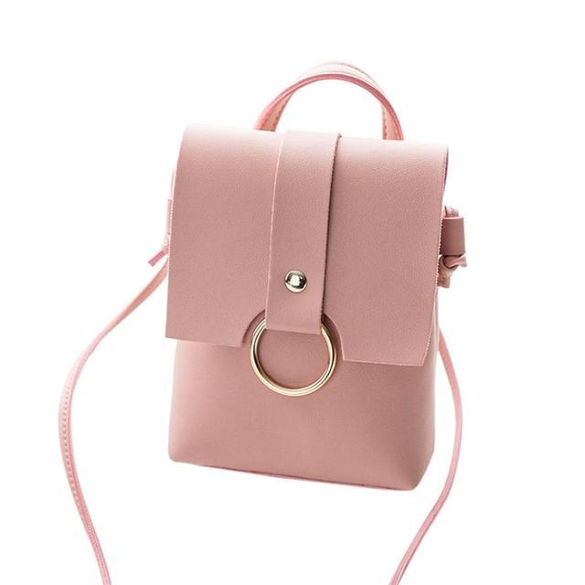3ab533ef11a0 Pink Design Cover Ring Hasp Crossbody Handbag Small Multi Color Handbags  Women Clutches Purse Shoulder Handbag Bags Handbags YL