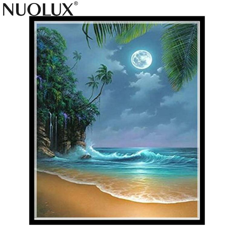 Blxecky 5d Diy Diamond Painting By Number Kitsnight Sky - 1000×1000