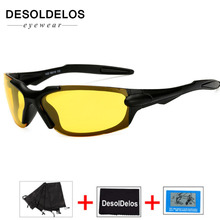 Night Vision Glasses Driver Driving glasses Yellow Lens Classic Anti Glare Safety 2019