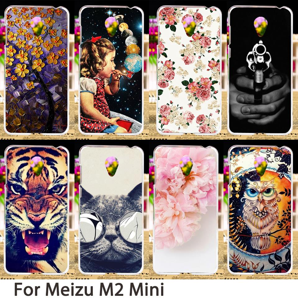 TAOYUNXI Soft Mobile Phone Cases For Meizu M2 Mini Meilan 2 5.0 inch Dual SIM 4G LTE For Meilan2 Case Skin Shell Sheaths Bags