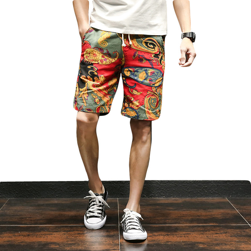 Just Zongke Chinese Style Knee Length Summer Linen Cotton Shorts Men Streetwear Mens Shorts Man 5xl Men Shorts Cotton Clothing 2019 Men's Clothing