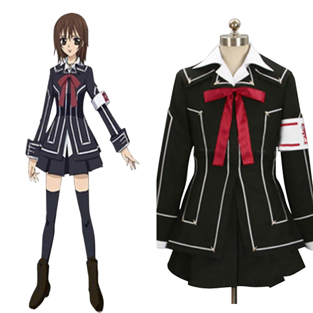 original anime vampire knight cosplay day class girl kurosu yuuki