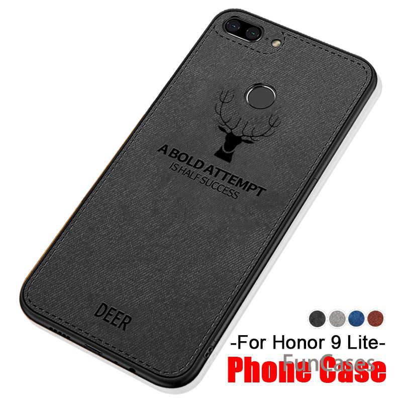 Олень чехол для телефона для Huawei honor 9 lite чехол для huawey huwei honor 9 lite 9 lite 9i honor 9 lite 9 горит свет Дело Мягкая ткань крышка