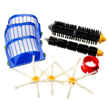 9Pcs/Set Vacuum Cleaner Replacement Parts For iRobot Roomba 600 Series 620 630 650 Side Beater Brush Fliter Cleaning tool