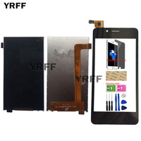 LCD Display Touch Screen For FLY FS458 Stratus 7 FS 458 Touch Screen LCD Display Screen Assembly Digitizer Sensor Panel Tools Mobile Phone LCD Screens    -