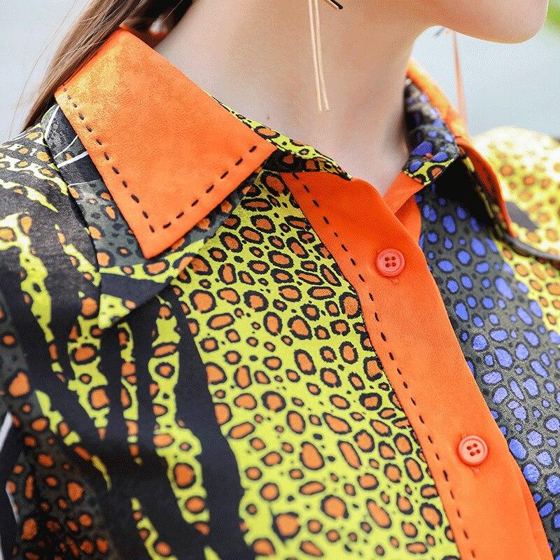 Robe Imprimé Ceinture Dot Femmes Courtes Robes Jacquard Polka Midi Voa Jaune Chemise À Manches A762 D'été Soie Vêtements Mince mvN8w0n
