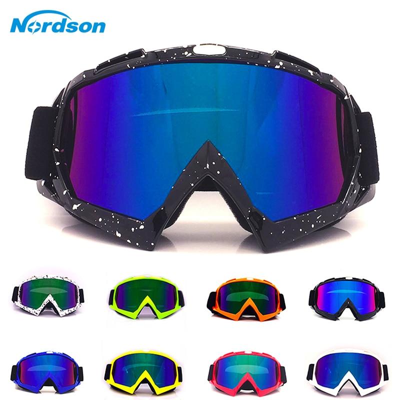 Nordson Outdoor Motorrad Goggles Sport Road Racing Racecraft Motocross Moto Dirt Bike Goggles Racing Ski Winddicht Gläser