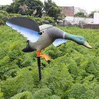 2017 Xilei Protect Garden Duck Decoy Bionic Animal Bait Hunting Decoy With Spinning Wings