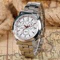 2016 Homens Relógio De Quartzo-Relógio Marca De Luxo Relógio Dos Homens de Aço Completo Relógio Masculino Relogios masculinos Montre Homme z-612