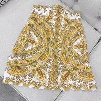 2019 New Women Floral Skirts High Quality Mini Silk Skirts for Women A line Elegant Slim Elegant Skirts