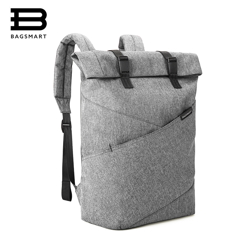 BAGSMART Lightweight Laptop Backpack Bolsa Mochila for 15.6 Inch Notebook Computer Rucksack Travel School Bag for Teenagers bagsmart new men laptop backpack bolsa mochila for 15 6 inch notebook computer rucksack school bag travel backpack for teenagers