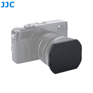 Image 1 - JJC عدسة الكاميرا غطاء ل Fujifilm LH XF23 و JJC LH JXF23 عدسة هود 62 مللي متر الأسود قبعات حامي LC JXF23