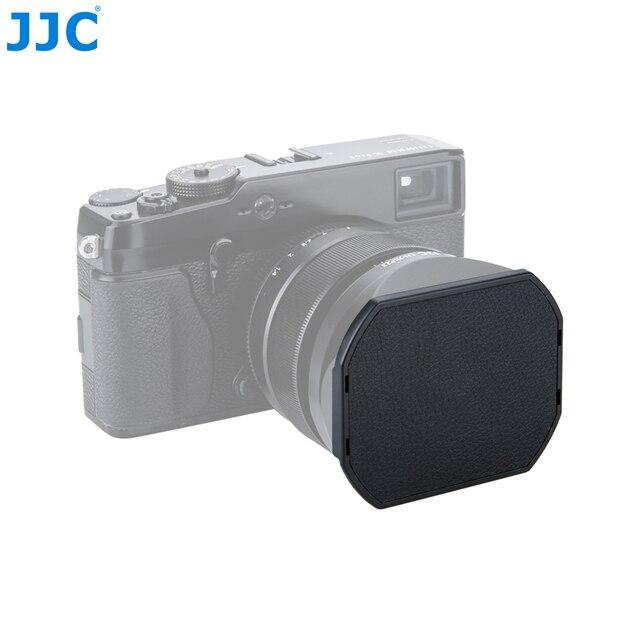 JJC عدسة الكاميرا غطاء ل Fujifilm LH XF23 و JJC LH JXF23 عدسة هود 62 مللي متر الأسود قبعات حامي LC JXF23