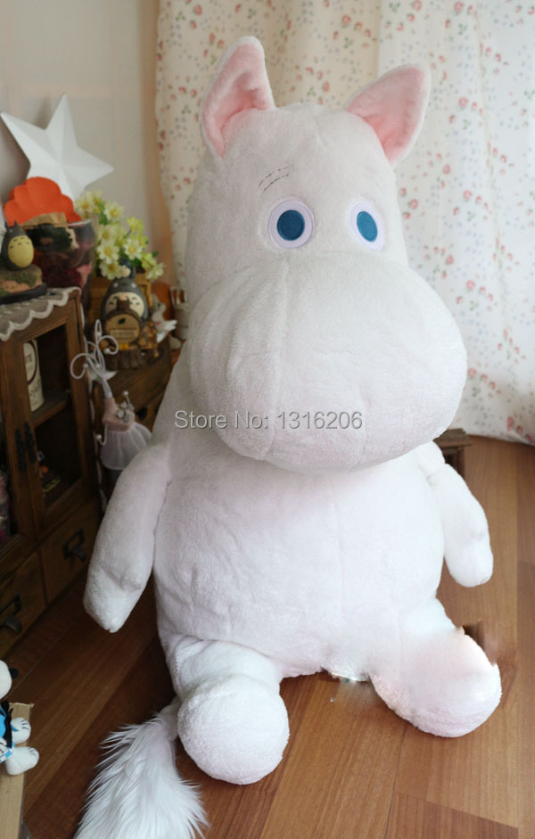 2L 83CM Brand New Moomin Japan anime dolls Pillow plush toys Christmas Car style action figure gifts House Decoration Accessory - 20144you store