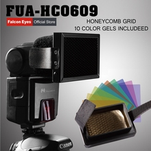 Falcon Eyes Honeycomb Grid Filter for Canon Nikon Pentax YONGNUO Speedlite Flash Picture Studio Equipment
