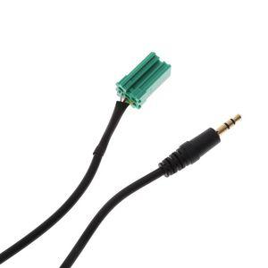 Image 4 - Adaptateur auxiliaire autoradio MP3 entrée Aux prise adaptateur câble de plomb avec clés Radio pour Renault 2005 2011 Clio Megane Laguna Modus