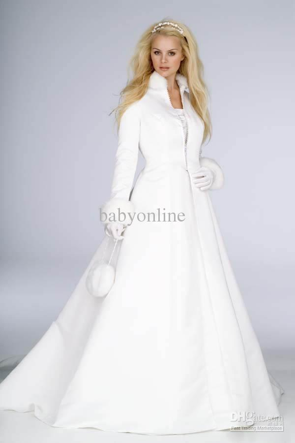 Long Coat Dress Wedding