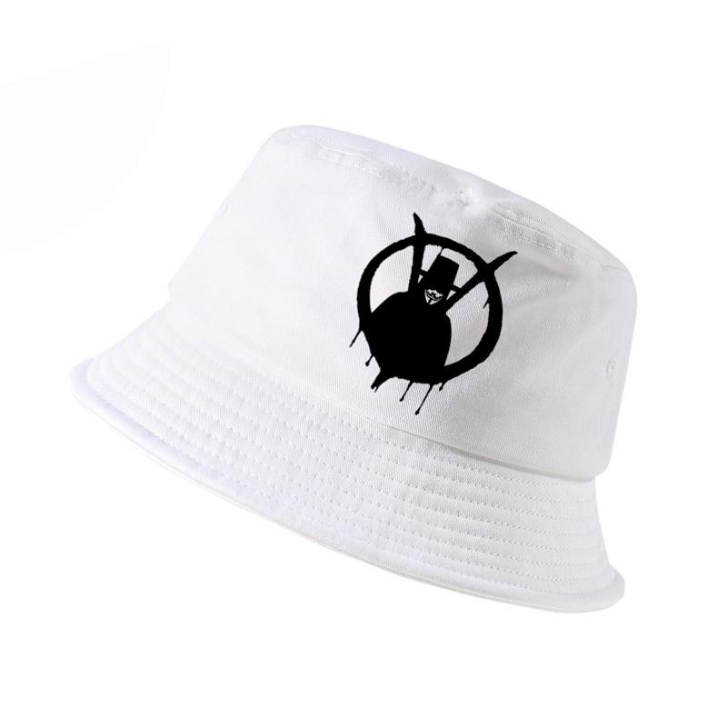 Analytical New K Pop Fashion V For Vendetta Classic Movie Hat Men Women Bucket Hat Outdoor Hunting Panama Fishing Cap Bucket Hat Women