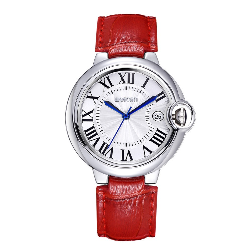 Women's Watches Luxury Brand Blue Balloon Style Quartz  Roman numerals Display Dial Ladies Fashion Classic Dress