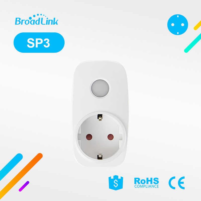 Broadlink SP3 Contros CC SP MINI3 bezprzewodowy inteligentna wtyczka zasilania gniazdo 16A/10A zegar bezprzewodowy pilot zdalnego sterowania IOS Android dla inteligentnego domu