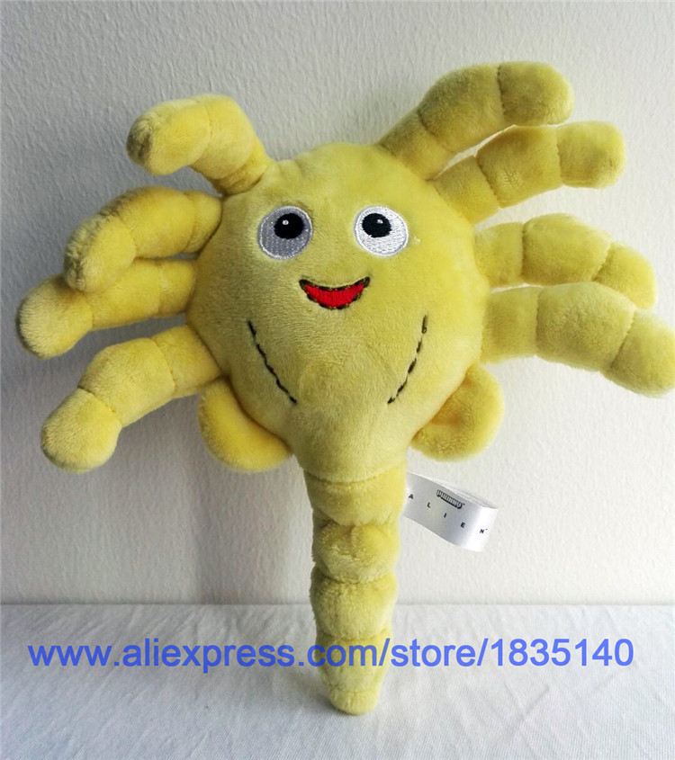 IN HAND FREE SHIPPING Alien Series STUFFED PLUSH DOLL ANIMAL Facehugger * 8