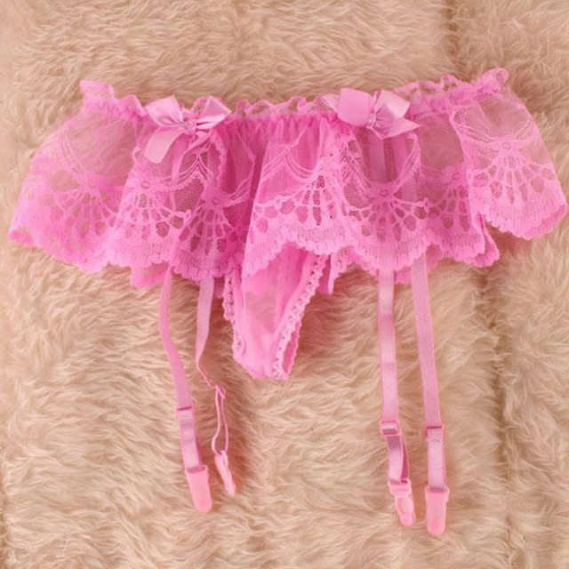 c9f806acc6f Suspender G-String Fit Stocking Garter Belt Sexy lingerie Women Girls Lace
