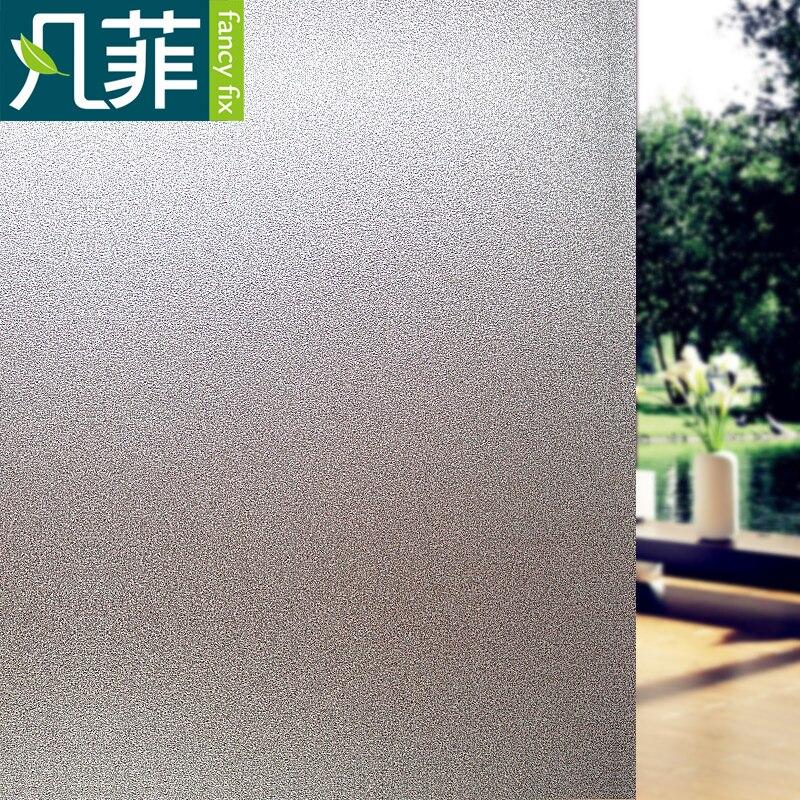 Película adhesiva de vidrio esmerilado de fantasía para ventana, privacidad para oficina, Baño, Dormitorio, tienda, adhesivo estático, película decorativa DIY, sin pegamento