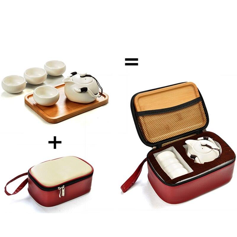 Ensembles de thé en porcelaine, ensemble de thé ChineseTravel, Service de boisson de cérémonie de thé de haute qualité livraison gratuite