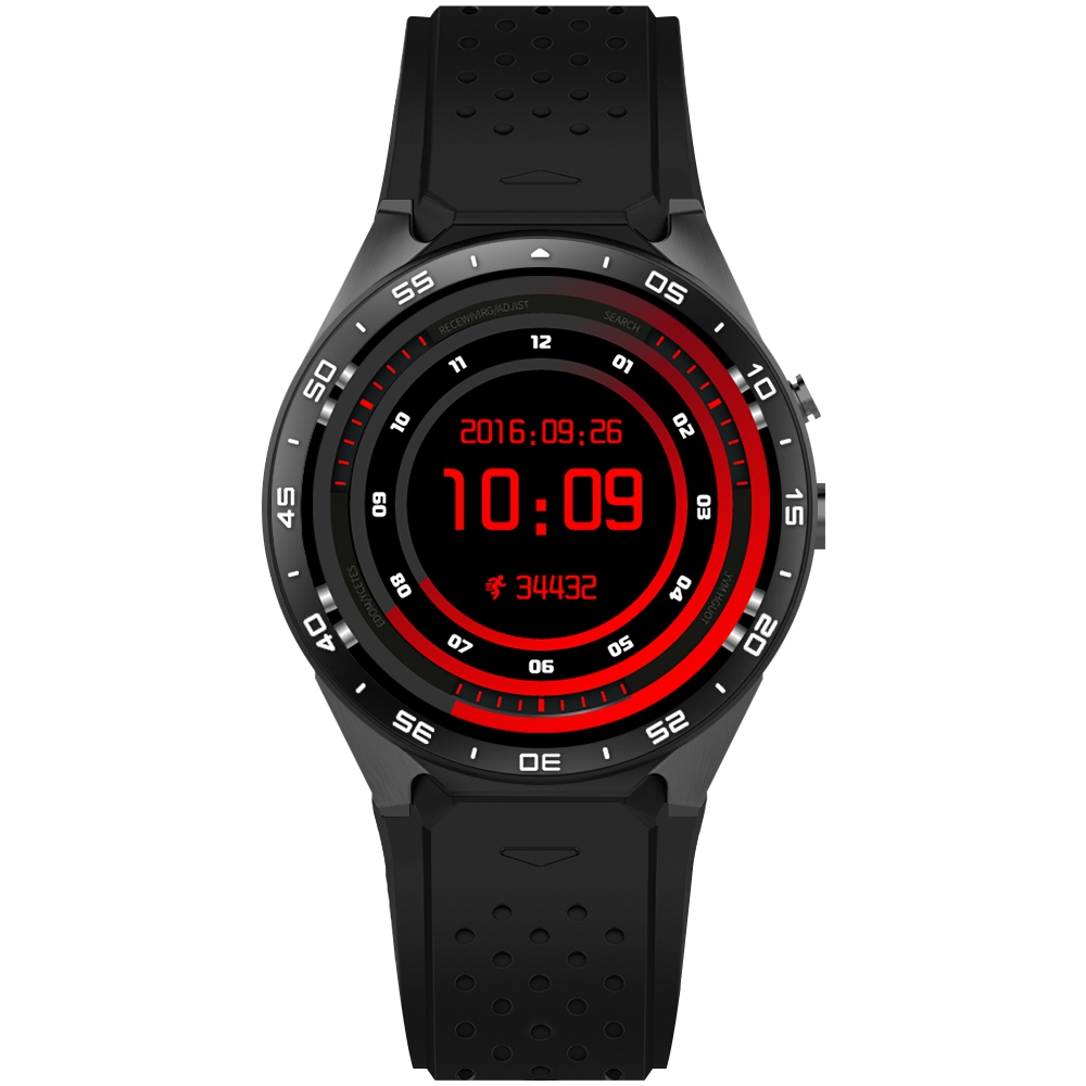 Original KW88 3G WIFI GPS Smart Watch Heart Rate Monitor Android 5.1 IOS MTK6580 CPU 1.39 inch Screen 2.0MP Camera Smartwatch d6 smart watch phone 1 63 inch mtk6580 quad core 3g android 5 1 wear wifi gps smartwatch heart rate monitor for android ios
