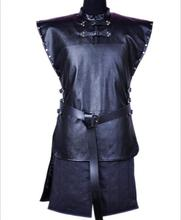 Jon Snow Costume Outfit With Coat, Full Set for Cosplay