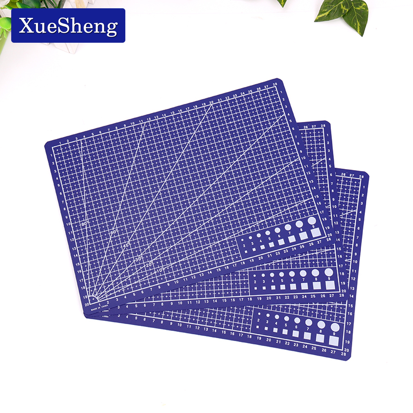 A4 30 * 22cm Sewing Cutting Mats Plate Design Engraving Cutting Board Mat Handmade Hand Tools