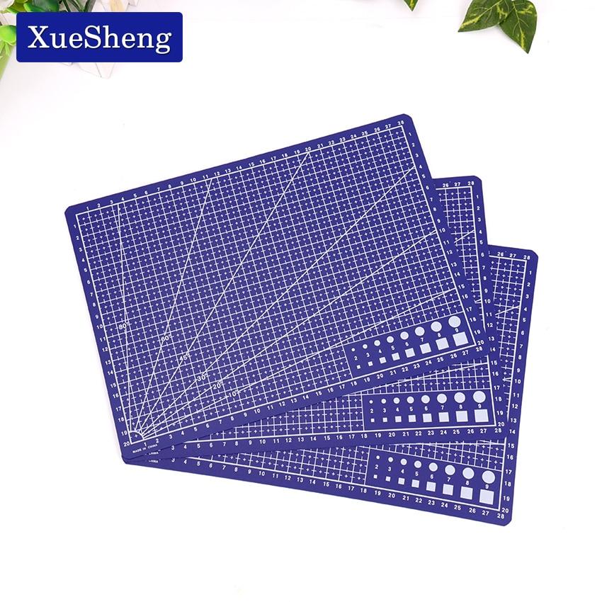 A4 30 * 22cm Sewing Cutting Mats Plate Design Engraving Cutting Board Mat Handmade Hand Tools