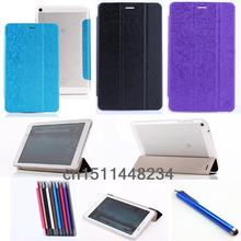 De moda de alta calidad de la pu Cubierta de Cuero Para HuaWei MediaPad 8.0 T1 S8-701U S8-701W T1-821 T1-823L caso Del Soporte