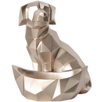 Creative Dog and Cat Storage Geometric Sculpture 4