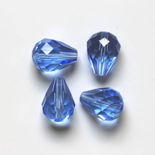 Wholesale 100pcs/lot Crystal Glass Faceted Beads Teardrop For Jewelry Making 8x6mm Free Shipping ZT3A1286M