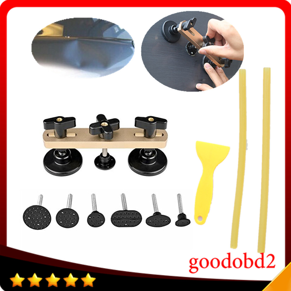 Car Diy Tool Paintless Dent Repair Tools Newly Design Pulling Bridge Removal Pdr Toolkit With